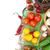 fresh ingredients for cooking tomato cucumber mushroom and sp stock photo © karandaev
