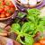 fresh farmers tomatoes and basil stock photo © karandaev