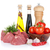 ruw · filet · biefstuk · specerijen · steen · boord - stockfoto © karandaev