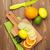 cítrico · frutas · laranjas · limões · isolado · branco - foto stock © karandaev