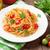 спагетти · пасты · помидоров · петрушка · деревянный · стол · древесины - Сток-фото © karandaev