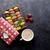 colorful macaroons and coffee stock photo © karandaev