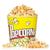 popcorn · wiadro · czerwony · żółty · biały · żywności - zdjęcia stock © karandaev
