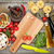 fresh ingredients for cooking pasta tomato mushroom and spice stock photo © karandaev