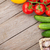 fresh ripe vegetables on wooden table stock photo © karandaev