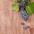 red grape on wooden table stock photo © karandaev