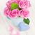 feito · à · mão · mães · dia · cartão · rosa · rosas - foto stock © karandaev