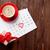 calendrier · rouge · 14 · saint · valentin · temps · broches - photo stock © karandaev