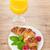 fraîches · français · croissant · table · fraises · fond - photo stock © karandaev
