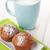 copo · leite · pão · de · especiarias · bolinhos · branco · mesa · de · madeira - foto stock © karandaev