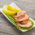 friss · zöld · saláta · előkészített · fehér · étel - stock fotó © karandaev