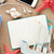 travel and vacation notepad with items stock photo © karandaev