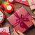 female hands holding christmas gift stock photo © karandaev