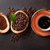 coffee cup beans and ground powder stock photo © karandaev
