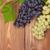 monte · uvas · videira · mesa · de · madeira · cópia · espaço · vinho - foto stock © karandaev