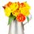 flores · regadera · tulipán · silla · interior · blanco - foto stock © karandaev