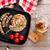 grilled sausages and beer mug stock photo © karandaev