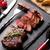 gegrild · biefstuk · steen · tabel - stockfoto © karandaev