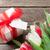 coffret · cadeau · ruban · tag · rendu · 3d · boîte · carte - photo stock © karandaev