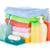 cosméticos · garrafas · dois · toalhas · isolado · branco - foto stock © karandaev