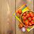 kers · sap · vers · tabel · voorjaar · vruchten - stockfoto © karandaev
