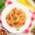 пасты · помидоры · черри · петрушка · спагетти · нефть · обеда - Сток-фото © karandaev