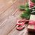 snoep · riet · kerstboom · houten · tafel · top - stockfoto © karandaev