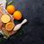frescos · naranja · frutas · jugo · piedra · mesa - foto stock © karandaev
