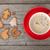 coffee cup and gingerbread cookies stock photo © karandaev