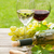 白 · 赤ワイン · 眼鏡 · ボトル · ブドウ - ストックフォト © karandaev
