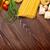 pasta · tomaten · basilicum · olijfolie · azijn · knoflook - stockfoto © karandaev