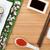 sakura · ramo · bambu · cópia · espaço · flor · comida - foto stock © karandaev
