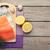 somon · baharatlar · ahşap · masa · üst · görmek · balık - stok fotoğraf © karandaev