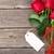 valentines day red roses over wood stock photo © karandaev