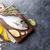 vis · koken · ingrediënten · ruw · citroen · kruiden - stockfoto © karandaev