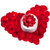 hermosa · rosas · caja · de · regalo · corazón · romántica · regalo - foto stock © karandaev