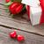 バレンタイン · フローラル · 緑 · 中心 · 手 · 図面 - ストックフォト © karandaev