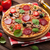 italian pizza with pepperoni stock photo © karandaev