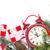 noel · ağacı · çalar · saat · hediye · Noel · ahşap · kar - stok fotoğraf © karandaev