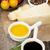 parmesan · peyniri · makarna · domates · sirke · zeytinyağı · otlar - stok fotoğraf © karandaev
