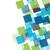 kleurrijk · mozaiek · witte · exemplaar · ruimte · muur · abstract - stockfoto © karandaev