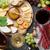 вино · винограда · сыра · белое · вино · хлеб - Сток-фото © karandaev