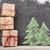 Noël · coffrets · cadeaux · dessinés · à · la · main · noël · papier - photo stock © karandaev