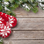 Noel · dekorasyon · kar · bo · ahşap - stok fotoğraf © karandaev