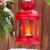 christmas candle lantern on fir tree branch stock photo © karandaev