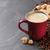 koffiekopje · bonen · suiker · steen · top - stockfoto © karandaev