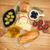 fresh cheese bread olives and tomatoes stock photo © karandaev