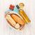 fehérbor · kenyér · fehér · fa · asztal · étel · háttér - stock fotó © karandaev