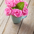 fresh spring garden pink roses bouquet stock photo © karandaev