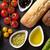 vegetariano · baguette · sándwich · lechuga · tomates · pimienta - foto stock © karandaev